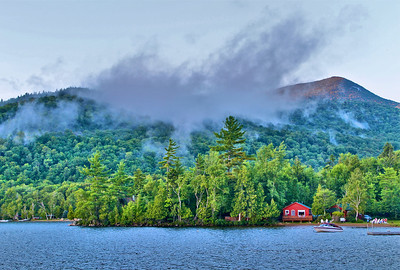 Blue Mountain lake.