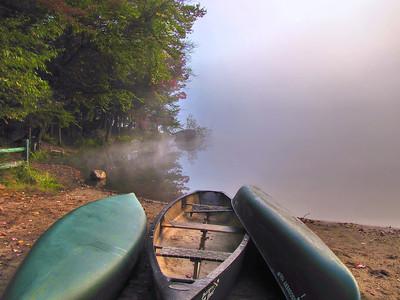 Lake Serene, Old Forge camping resort.